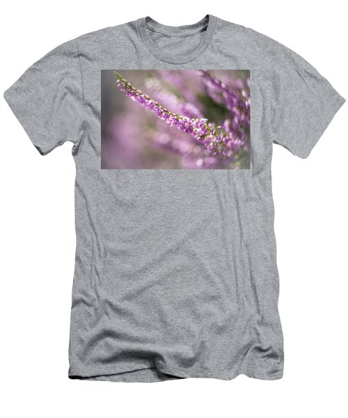 Summer Breezes Through The Heather Men's T-Shirt (Athletic Fit)