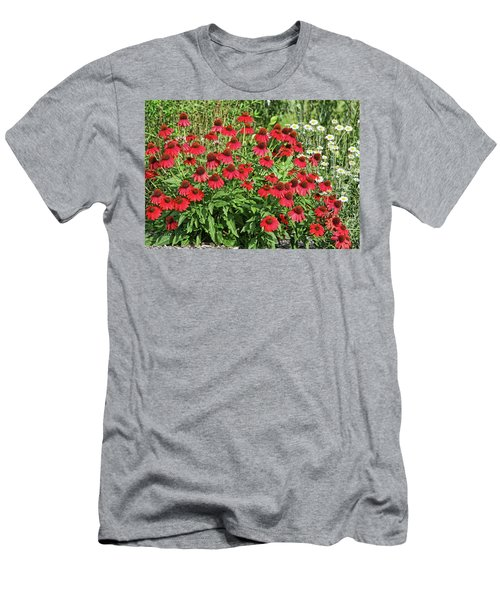 Men's T-Shirt (Slim Fit) featuring the photograph Summer Color by Denise Romano
