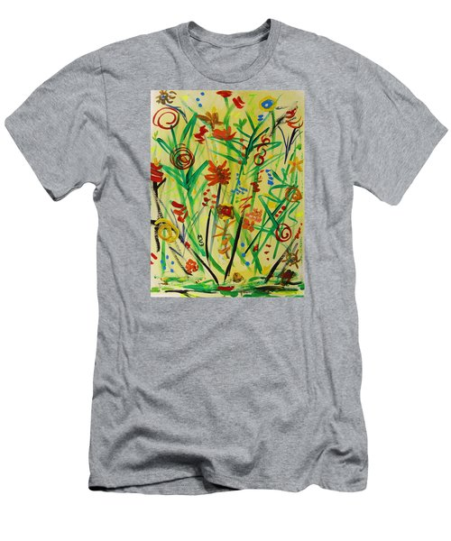 Summer Ends Men's T-Shirt (Slim Fit) by Mary Carol Williams