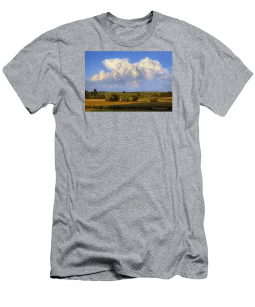 Summer Evening Formations Men's T-Shirt (Athletic Fit)