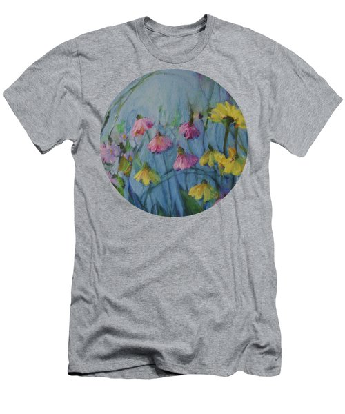 Summer Flower Garden Men's T-Shirt (Athletic Fit)