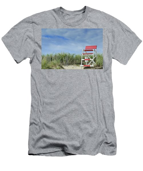 Summer In Red White And Blue Men's T-Shirt (Athletic Fit)