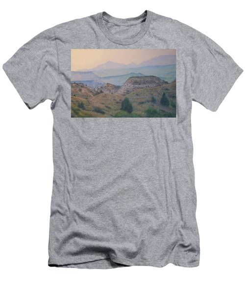 Summer In The Badlands Men's T-Shirt (Athletic Fit)