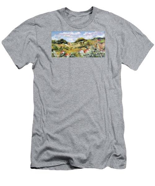 Summer Landscape Men's T-Shirt (Athletic Fit)