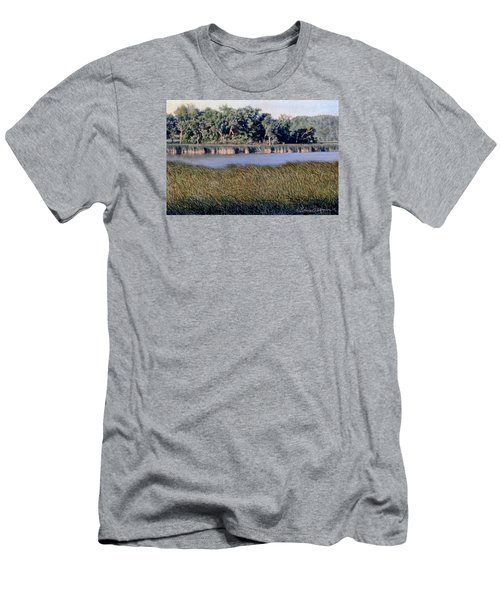 Summer Morning On The Slough Men's T-Shirt (Athletic Fit)