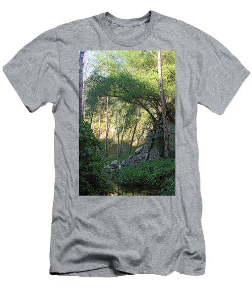 Summer On Bitten Path Men's T-Shirt (Athletic Fit)
