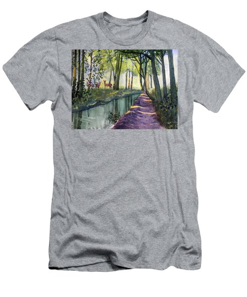 Summer Shade In Lowthorpe Wood Men's T-Shirt (Athletic Fit)