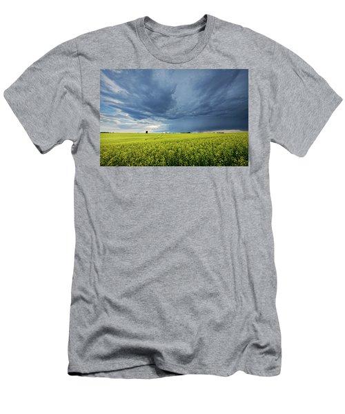 Summer Storm Over Alberta Men's T-Shirt (Athletic Fit)