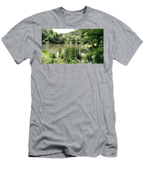Summer Swamp Men's T-Shirt (Slim Fit) by James Guentner