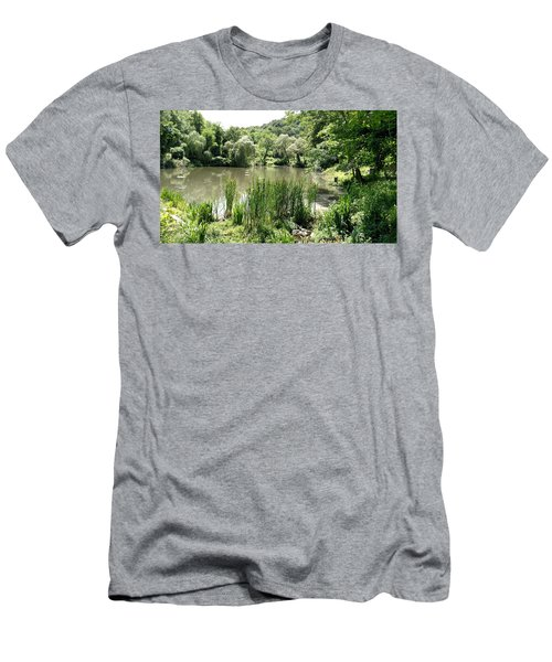 Summer Swamp Men's T-Shirt (Athletic Fit)