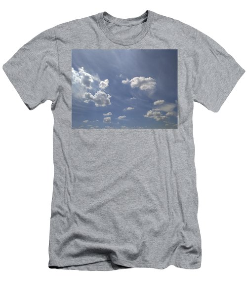 Summertime Sky Expanse Men's T-Shirt (Athletic Fit)