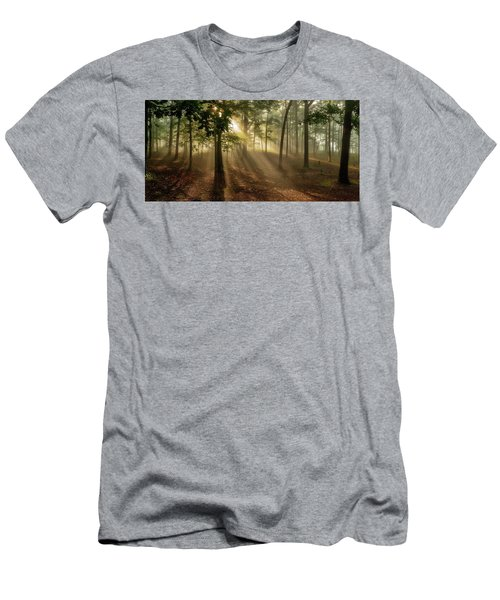 Sun And Clouds Men's T-Shirt (Athletic Fit)