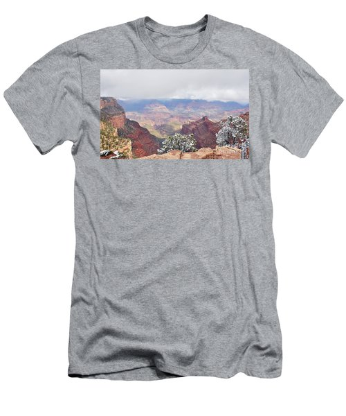 Sun And Snow Men's T-Shirt (Athletic Fit)