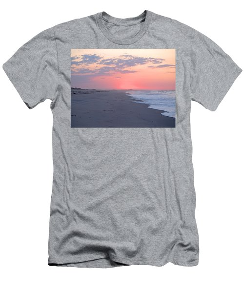 Men's T-Shirt (Slim Fit) featuring the photograph Sun Brightened Clouds by  Newwwman