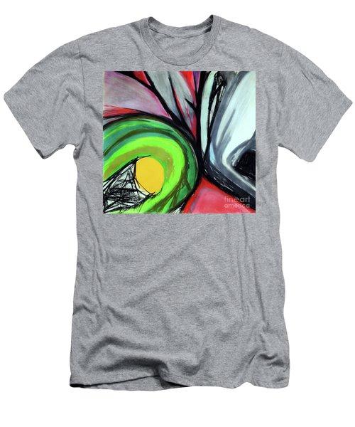 Sun Burst Men's T-Shirt (Athletic Fit)