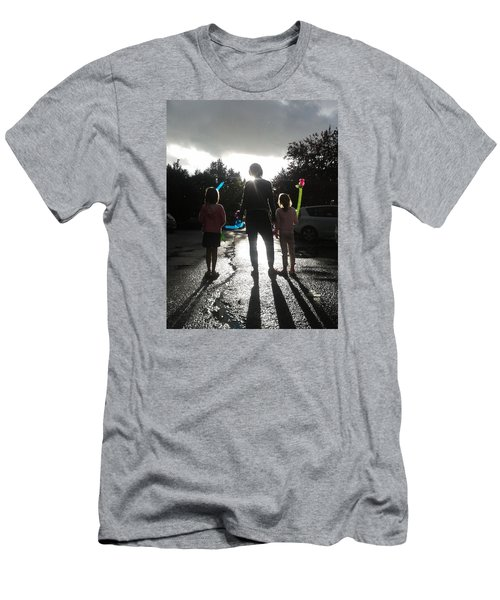 Men's T-Shirt (Slim Fit) featuring the photograph Sun Drops by Giuseppe Epifani