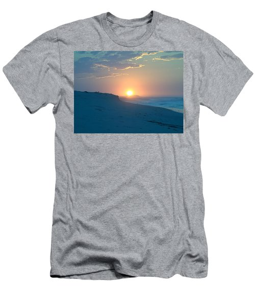 Men's T-Shirt (Slim Fit) featuring the photograph Sun Dune by  Newwwman
