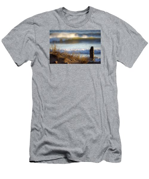 Sun Kissed Waves Men's T-Shirt (Athletic Fit)