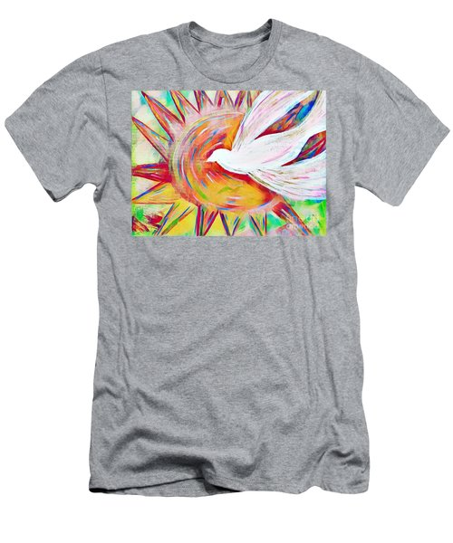 Healing Wings Men's T-Shirt (Athletic Fit)