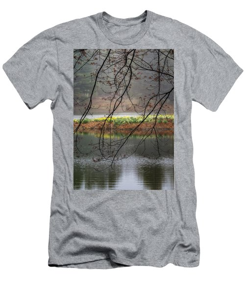Men's T-Shirt (Slim Fit) featuring the photograph Sun Shower by Bill Wakeley