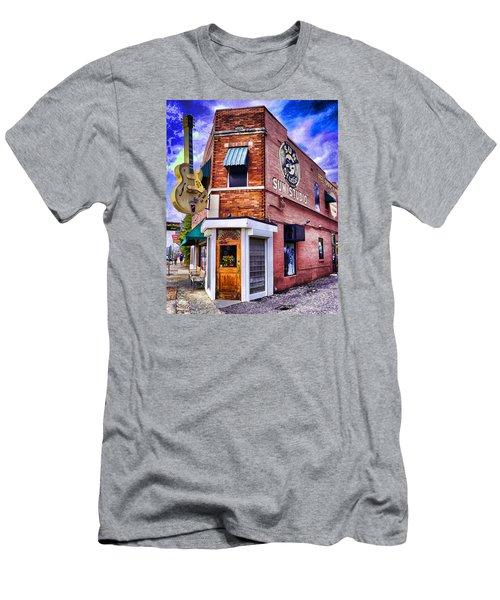 Sun Studio Men's T-Shirt (Slim Fit) by Dennis Cox WorldViews