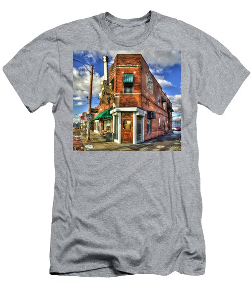 Sun Studio Rock N Roll Birthing Place Memphis Tennessee Art Men's T-Shirt (Athletic Fit)