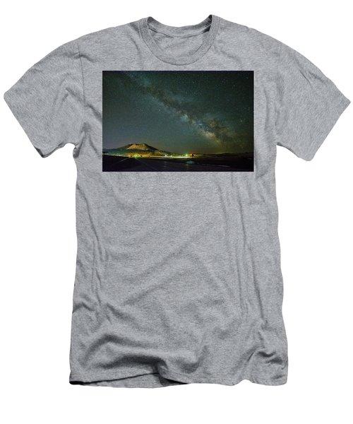 Sundance Milky Way Men's T-Shirt (Athletic Fit)