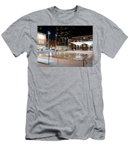Sundance Square Fort Worth 3 Men's T-Shirt (Athletic Fit)