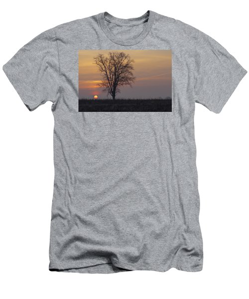 Sunday At Dawn Men's T-Shirt (Athletic Fit)