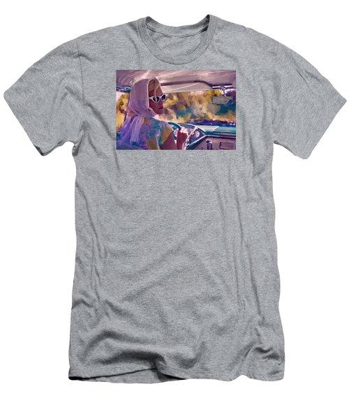 Sunday Drive Men's T-Shirt (Slim Fit) by Louis Ferreira