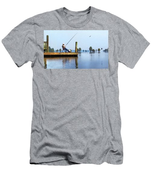 Sunday Fisherman Men's T-Shirt (Athletic Fit)