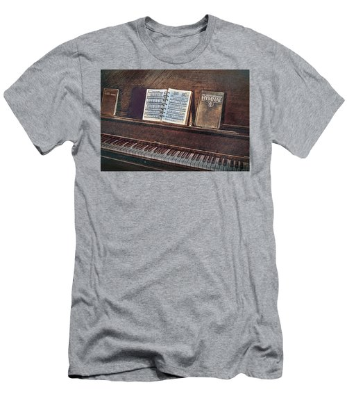 Sunday Hymns Men's T-Shirt (Slim Fit) by Marion Johnson