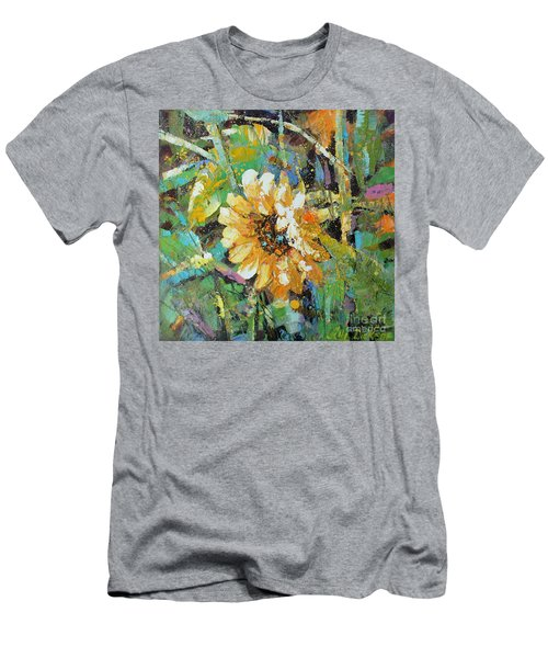 Sunflower I Men's T-Shirt (Athletic Fit)