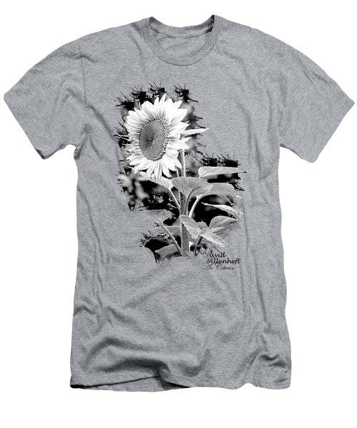 Sunflower Peace Men's T-Shirt (Athletic Fit)