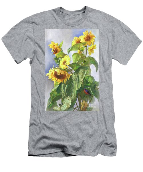 Sunflowers After The Rain Men's T-Shirt (Athletic Fit)