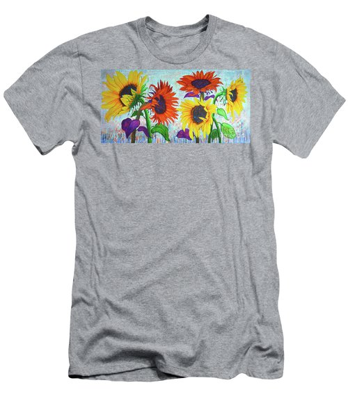 Sunflowers For Elise Men's T-Shirt (Athletic Fit)