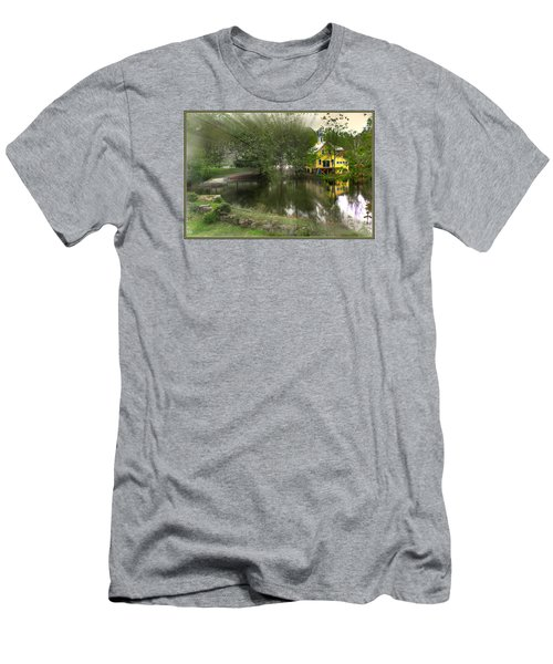 Sunlight Breaks Through On Chocorua Pond Men's T-Shirt (Athletic Fit)