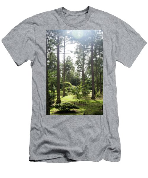 Sunlight Through The Trees Men's T-Shirt (Athletic Fit)
