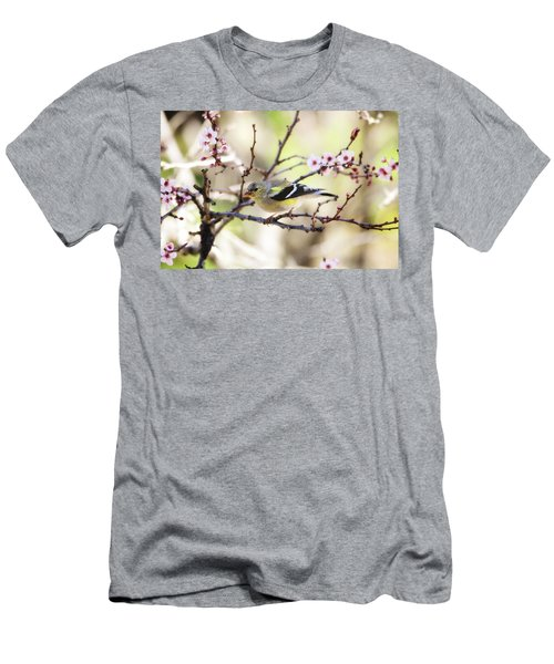 Sunny Days Men's T-Shirt (Slim Fit) by Trina Ansel