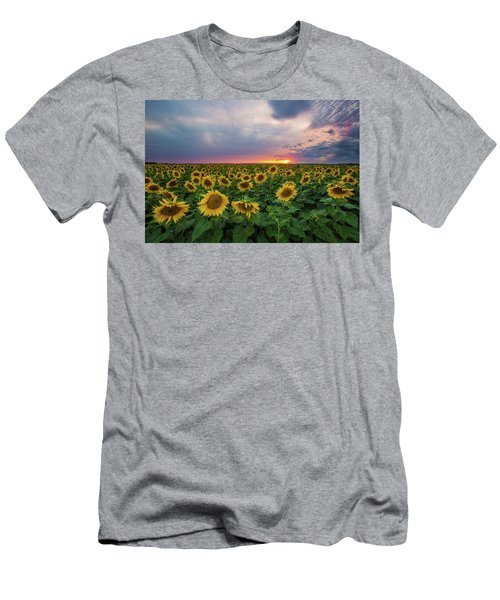 Sunny Disposition  Men's T-Shirt (Athletic Fit)