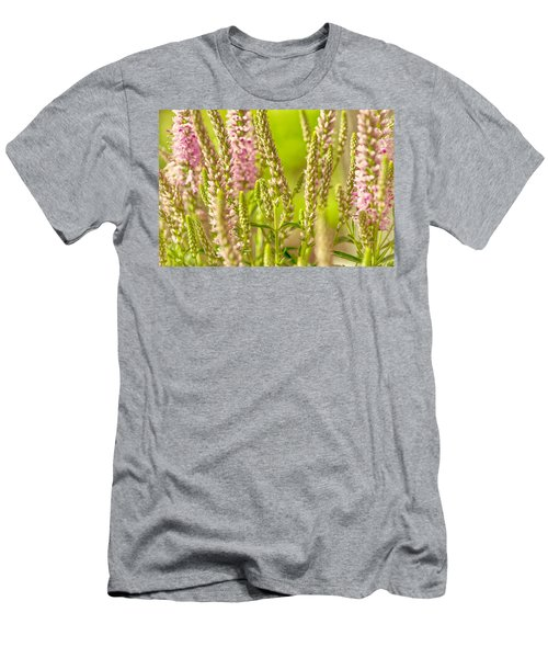 Sunny Lupine Men's T-Shirt (Slim Fit) by Bonnie Bruno