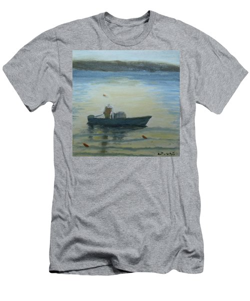 Sunny Morning And Lobster Men's T-Shirt (Athletic Fit)