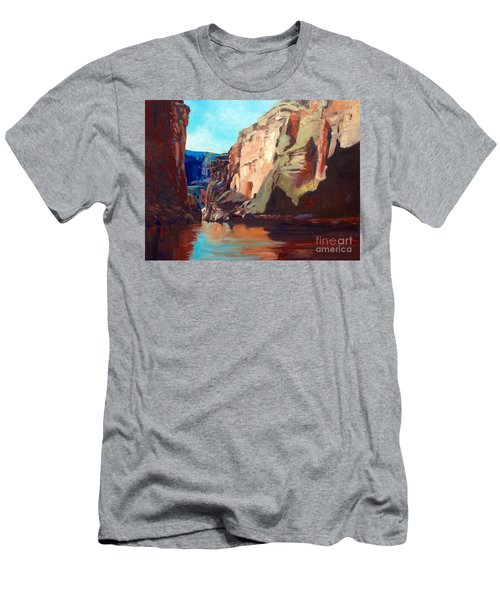 Sunny Morning On The Mighty Colorado Men's T-Shirt (Athletic Fit)