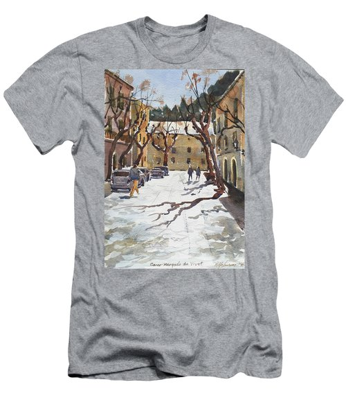 Sunny Street, Valledemossa Men's T-Shirt (Athletic Fit)