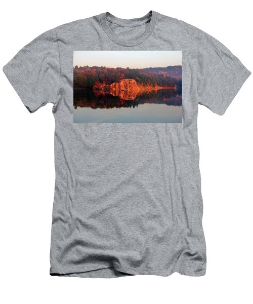 Men's T-Shirt (Slim Fit) featuring the photograph Sunrise And Harmony by Debbie Oppermann