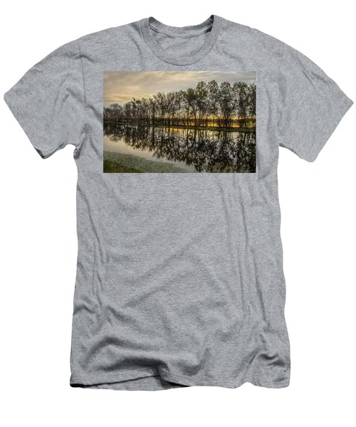 Sunrise At Brazos Men's T-Shirt (Athletic Fit)