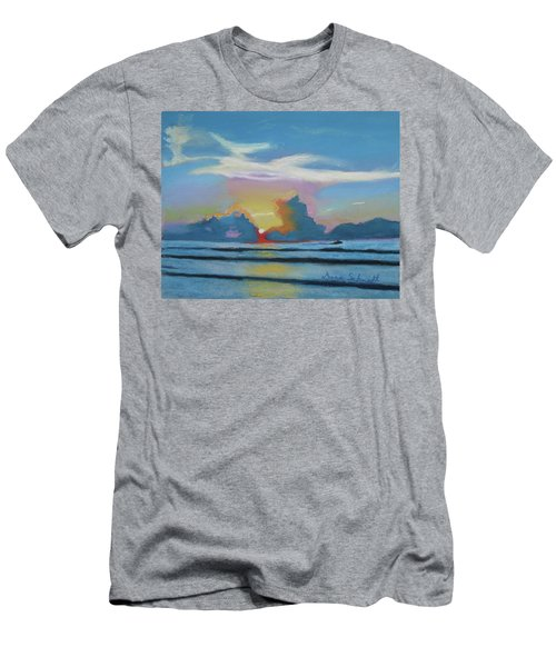 Sunrise At Cape Canaveral Beach Men's T-Shirt (Athletic Fit)