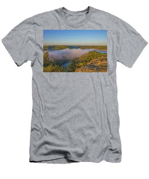 Sunrise At Mill Creek Lake. Men's T-Shirt (Athletic Fit)