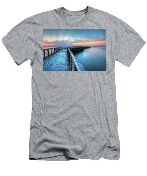 Sunrise At Sebastian Inlet Men's T-Shirt (Athletic Fit)