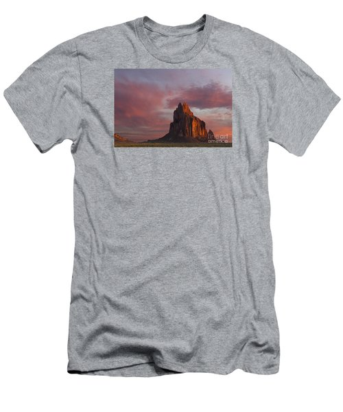 Sunrise At Shiprock New Mexico Men's T-Shirt (Athletic Fit)